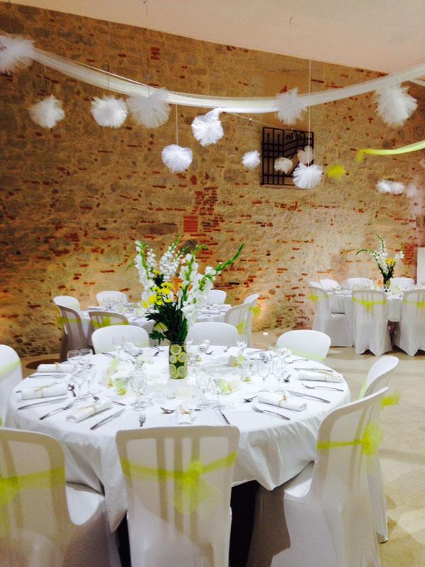 les mari 233 s du domaine de flore domaine de flore salles de r 233 ception tarn location salles